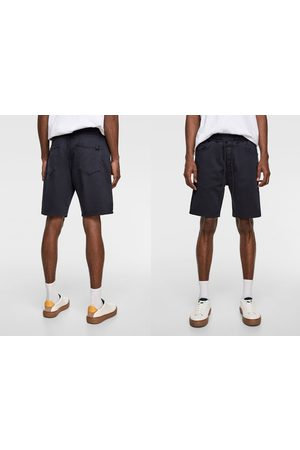 Zara Bermuda soft denim