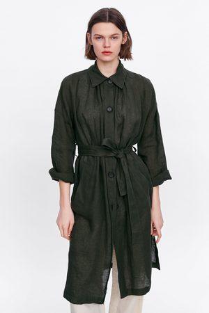 Zara Trench lino