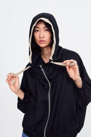 Zara Chaqueta oversize capucha