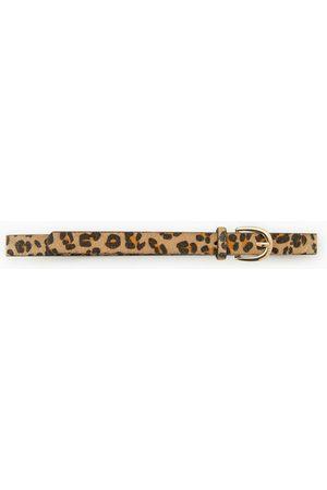 Zara Cinturón leopardo