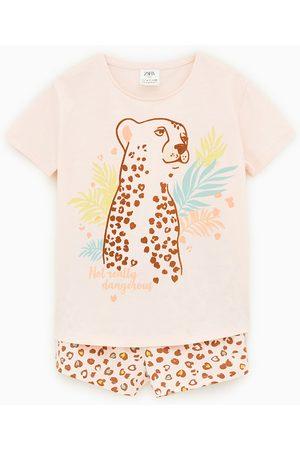 Zara Pijama león