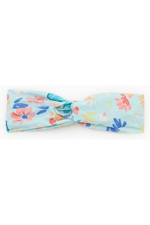 Zara Mujer Bandas para la cabeza - Turbante flores