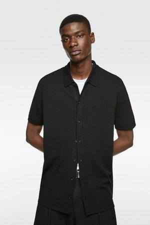 Zara Camisa punto
