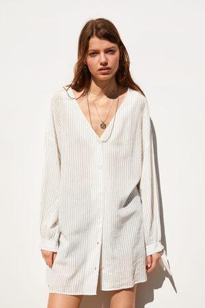 Zara Camisa rústica
