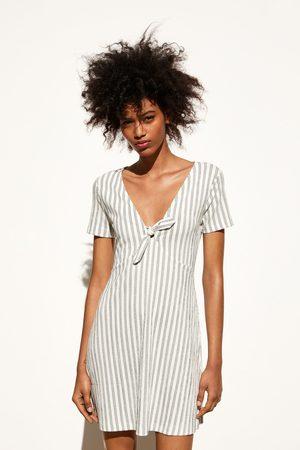 Zara Vestido rayas