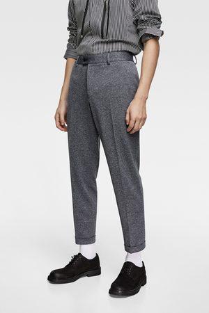Zara Hombre Pantalones y Leggings - Pantalón confort knit 4 ways