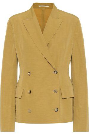 Golden Goose Angelica linen-blend blazer