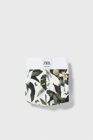 Zara Hombre Boxers y trusas - Bóxer estampación floral