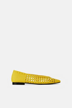 Zara Mujer Flats - Bailarina trenzada