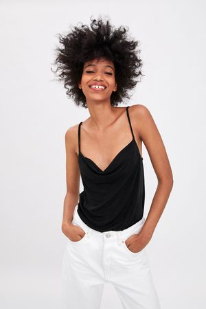 Zara Mujer Body - Body escote fluido