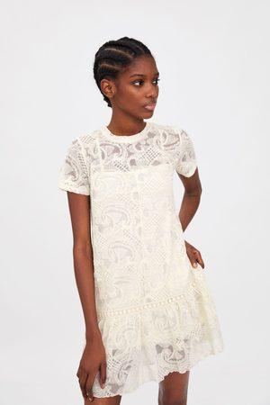 Zara Mujer De encaje - Vestido encaje