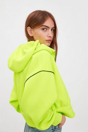 Zara Chaqueta capucha