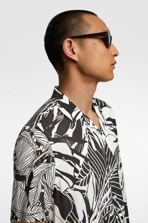Zara Camisa estampado tropical