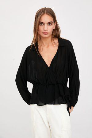 Zara Camisa semitransparente