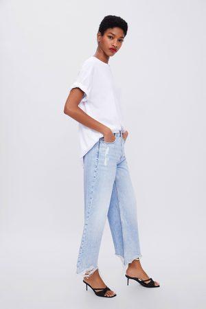 Zara Jeans z1975 high rise wide leg