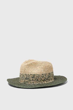 Zara Sombrero estructura bicolor