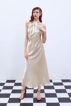 Zara Vestido cuello halter edición limitada