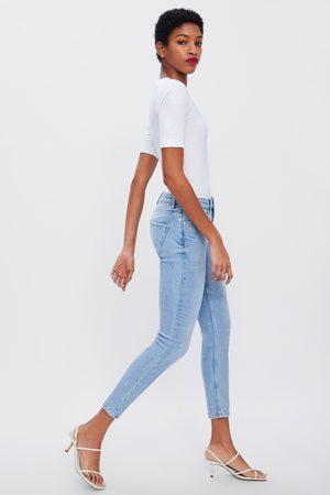 Zara Jeans zw premium 80's skinny sky blue