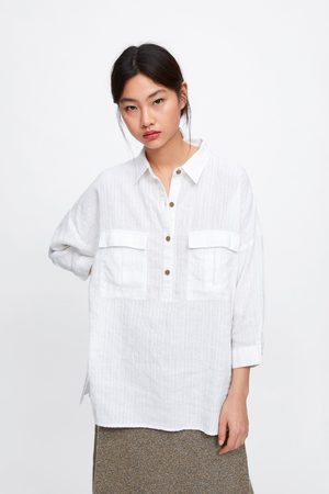 92d62fce8 Camisa oversize bolsillos