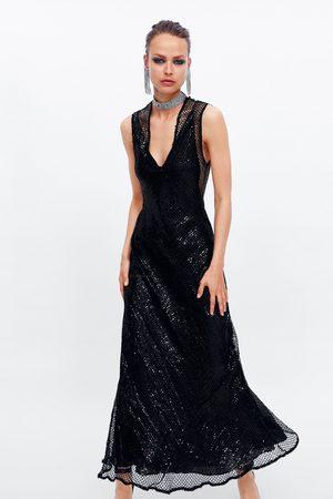 Zara Vestido lentejuela red edición limitada