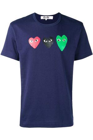 Comme des Garçons Camiseta con detalles de corazones