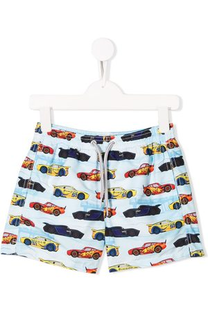 MC2 SAINT BARTH Bermudas con estampado de coches