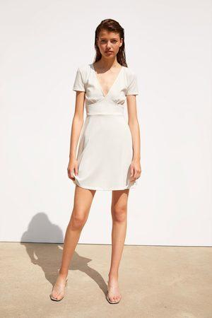62b5b9b2d Vestidos Cortos de mujer Zara verano 2016 ¡Compara ahora y compra al ...
