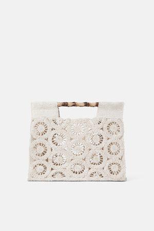 Zara Bolso shopper asas bambú