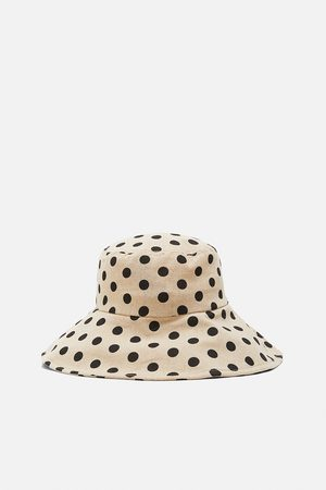 Zara Sombrero bucket lunares edición limitada