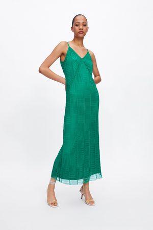 Zara Vestido red tirantes