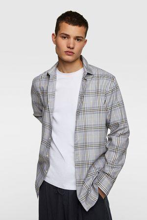 Zara Camisa cuadros