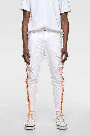 Zara Jeans cargo cintas