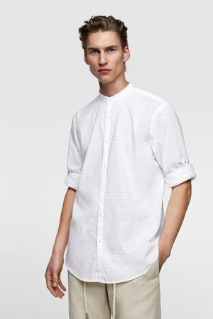 Zara Camisa estampado lunares