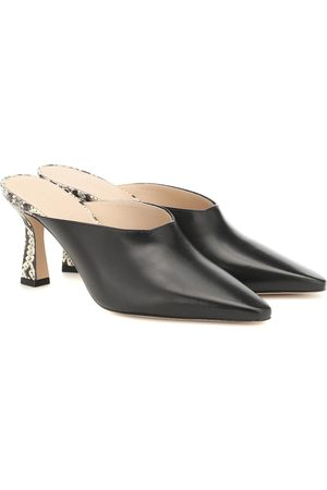 Wandler Mujer Zuecos - Lotte leather mules