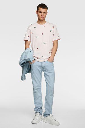 Zara Camiseta bordados