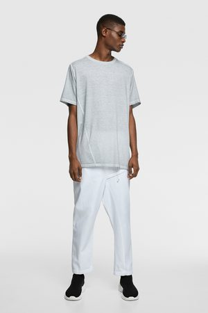 Zara Camiseta asimétrica lavado