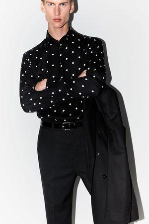 Zara Hombre Camisas - Camisa estampado lunares