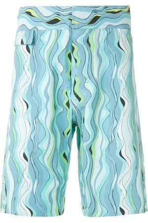 AMIR SLAMA Hombre Shorts - Shorts de playa estampados