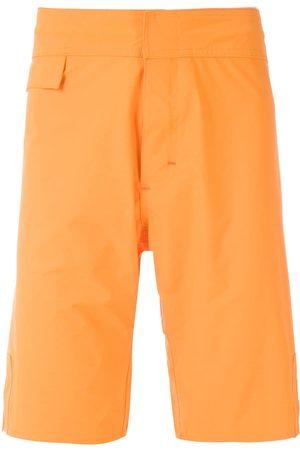 AMIR SLAMA Shorts de playa lisos