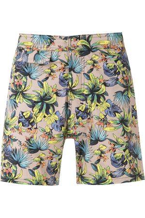 AMIR SLAMA Shorts de playa estampados