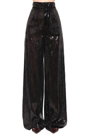 Dsquared2 Pantalones Con Lentejuelas De Pierna Ancha