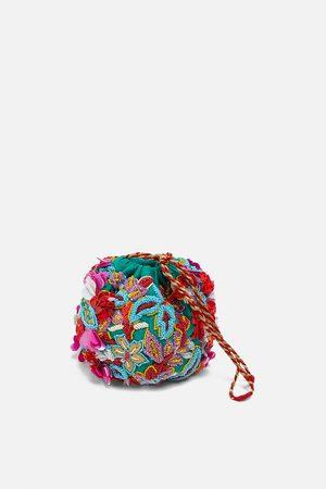 Zara Bolso abalorios lentejuelas edición limitada