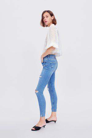 Zara Jeans zw premium skinny 80's erna blue