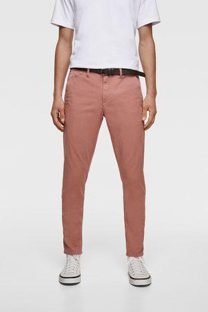 Zara Pantalón chino cinturón