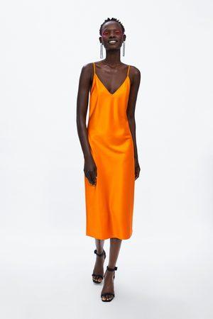 Zara Vestido lencero premium