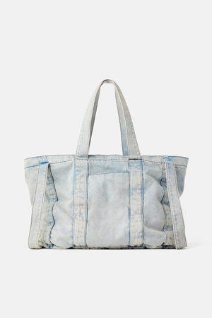 Zara Bolso shopper denim