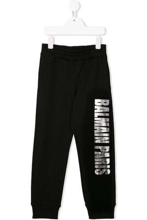 Balmain Pants con logo estampado