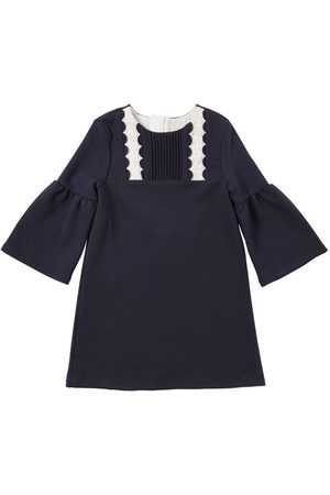 Chloé Vestido De Jersey Milano Con Bordados