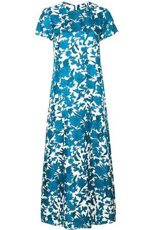 La DoubleJ Mujer Maxi - Vestido largo con estampado floral