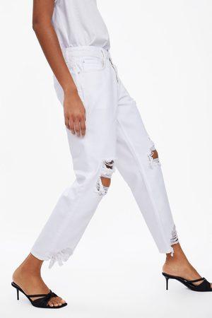 Zara Jeans z1975 relaxed rotos